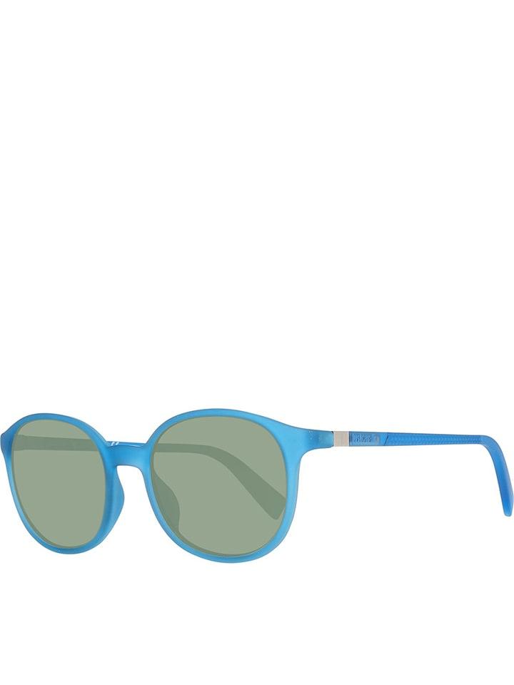 5434f02f84f8f0 Okulary damskie w kolorze niebiesko-zielonym - Just Cavalli ...
