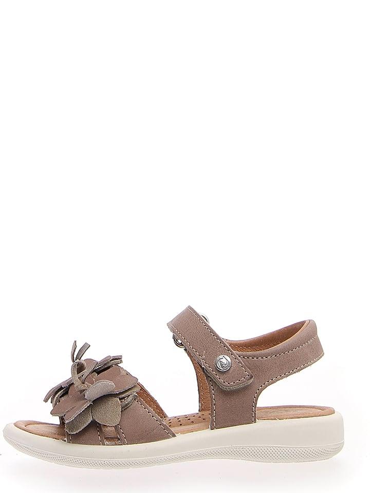 d54eefd9f3d64 Skórzane sandały w kolorze jasnobrązowo-beżowym - Naturino ...