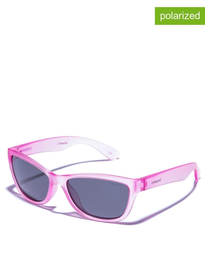 Polaroid Kinder-Sonnenbrille in Rosa/ Schwarz
