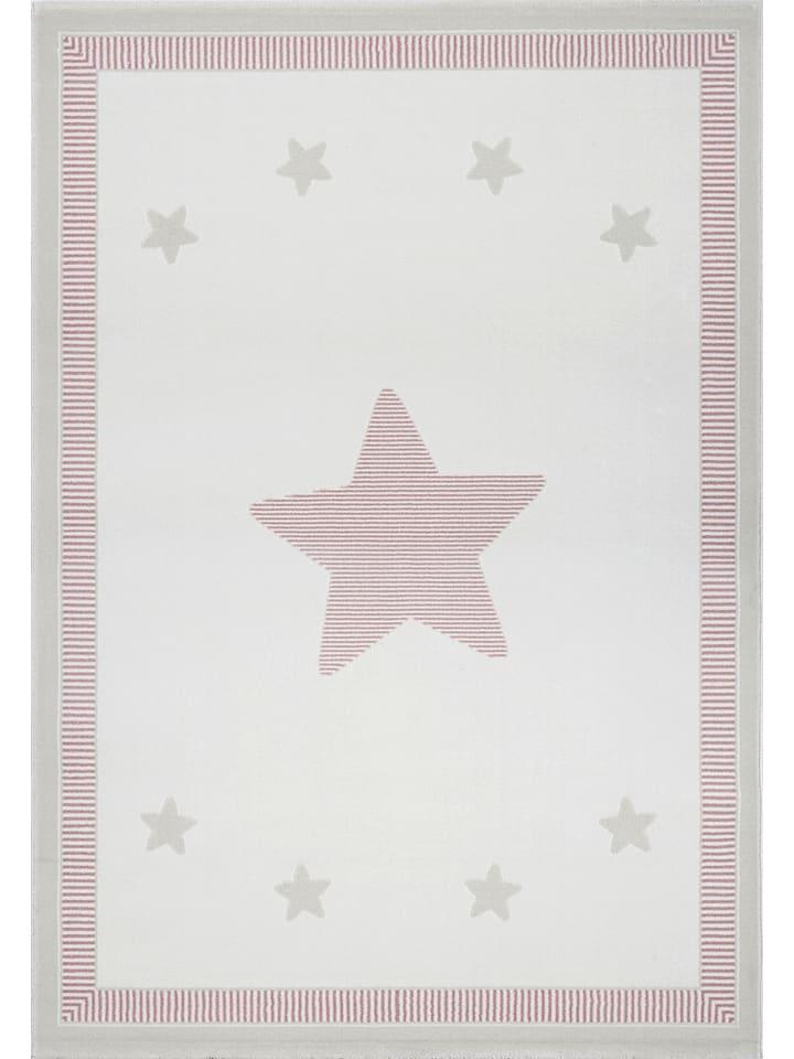 """Kids love rugs Dywan """"Princess"""" w kolorze kremowo-jasnoróżowym"""