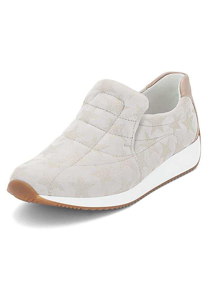 "Ara Shoes Leder-Slipper ""Lissabon"" in Weiß"