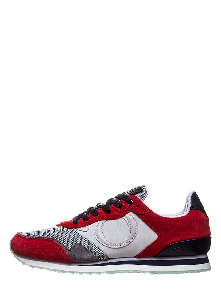 Marc O'Polo Shoes Sneakers grijs/rood