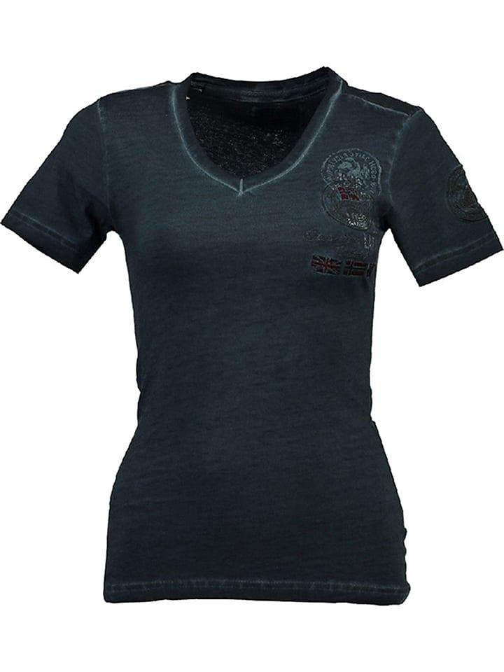 """Geographical Norway Koszulka """"Jodysee"""" w kolorze granatowym"""