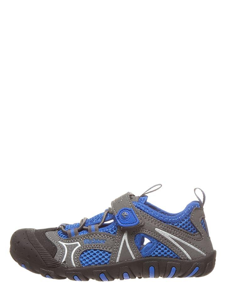 Richter Shoes Półsandały w kolorze niebieskim