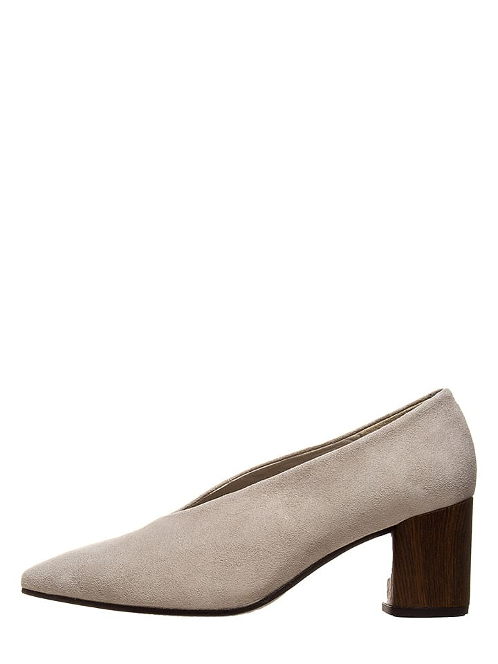 Vagabond Leder-Pumps Eve in Beige - 70% | Größe 39 | Pumps