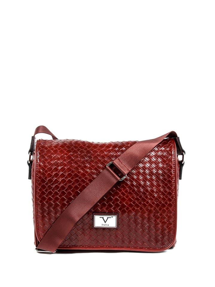 V Italia by Versace Torba w kolorze czerwonym - (S)31 x (W)24 x (G)10 cm