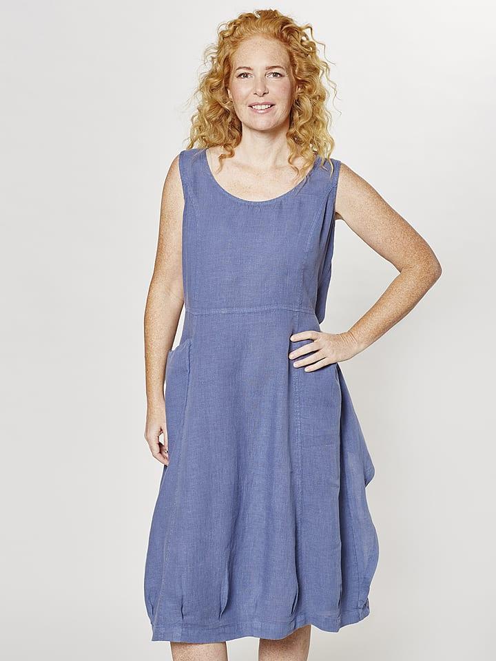 9ac3ff87d9f Deerberg - Leinen-Kleid