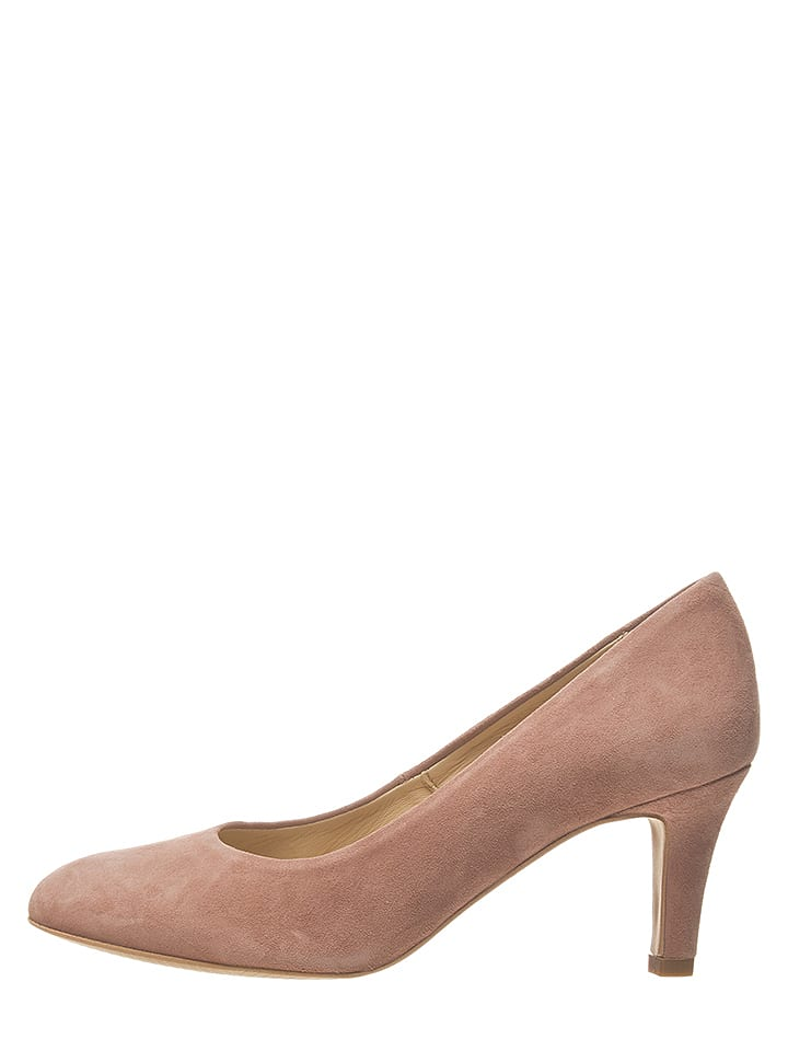 Bullboxer Leder-Pumps in Rosa