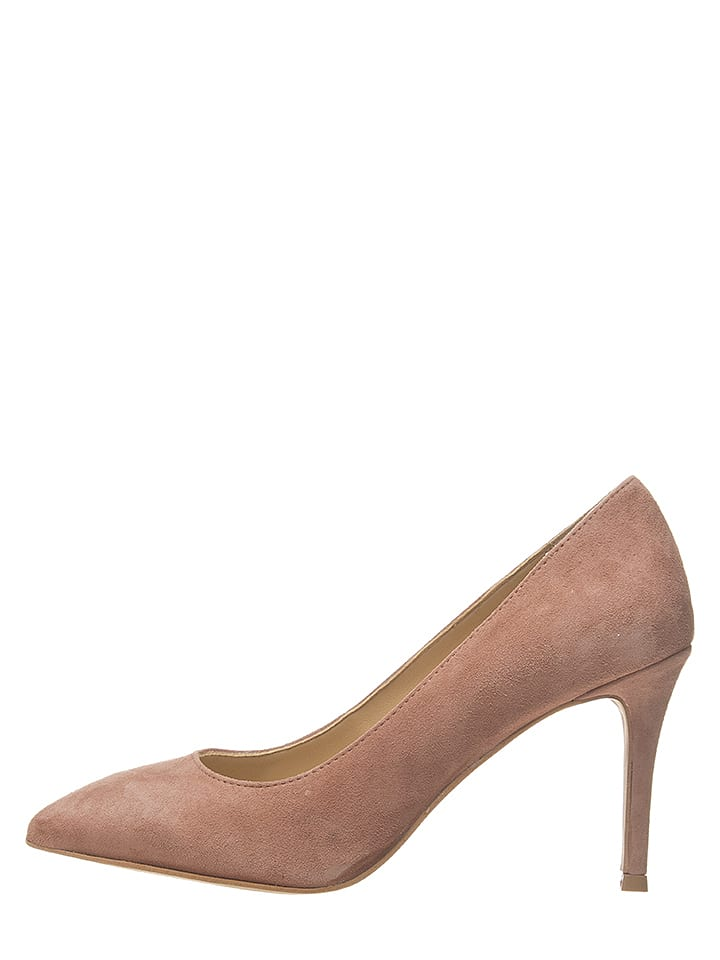 Bullboxer Leder-Pumps in Rosa - 63% | Größe 40 | Pumps