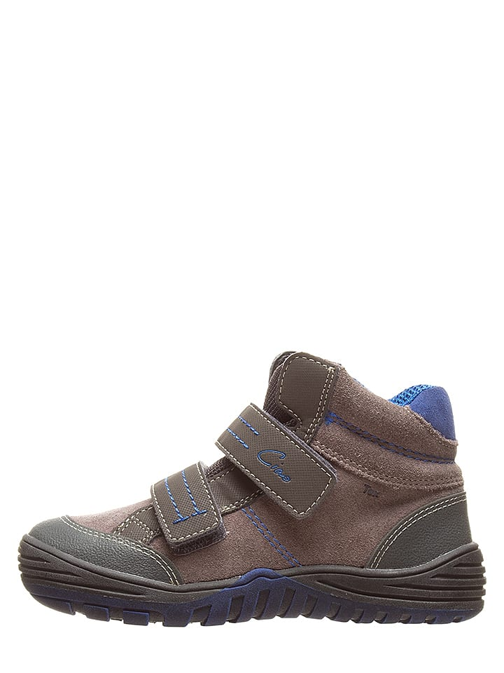 Ciao Sneakers in Taupe/ Blau