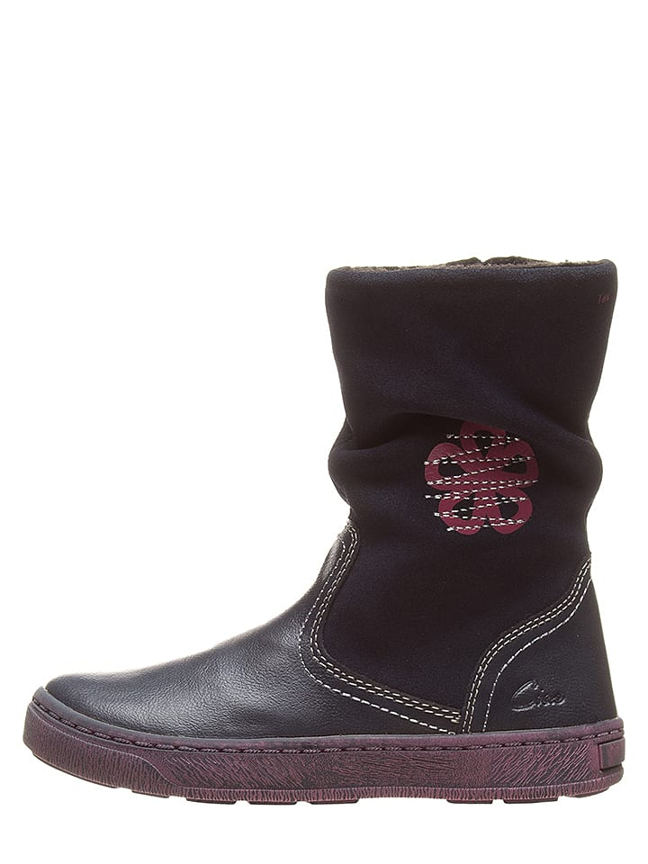 Ciao Stiefel in Dunkelblau/ Pink