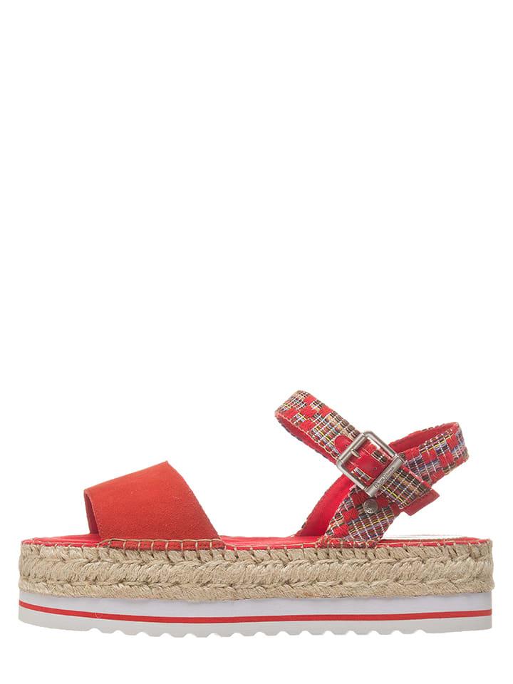 Pepe Jeans Sandaletten in Rot