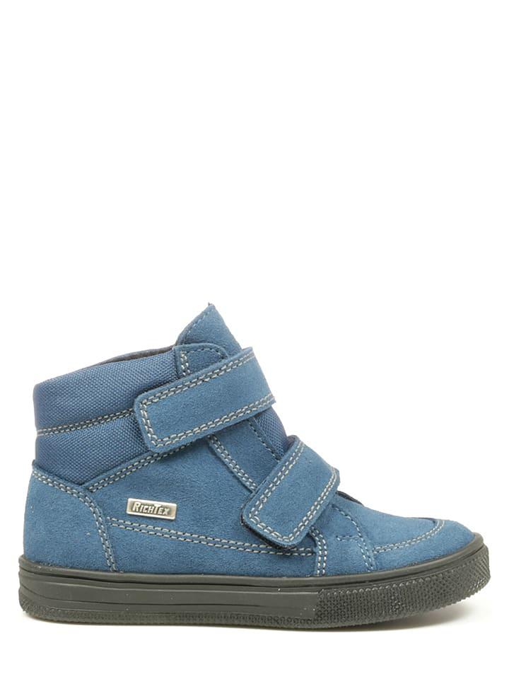 Richter Shoes Sneakersy w kolorze niebieskim