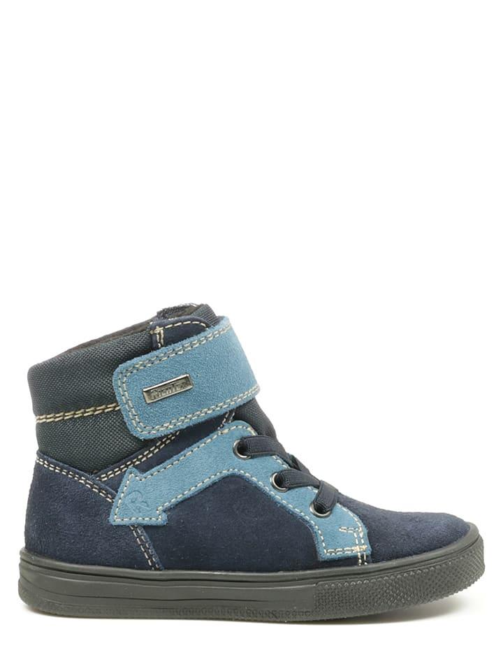 Richter Shoes Sneakersy w kolorze granatowo-błękitnym
