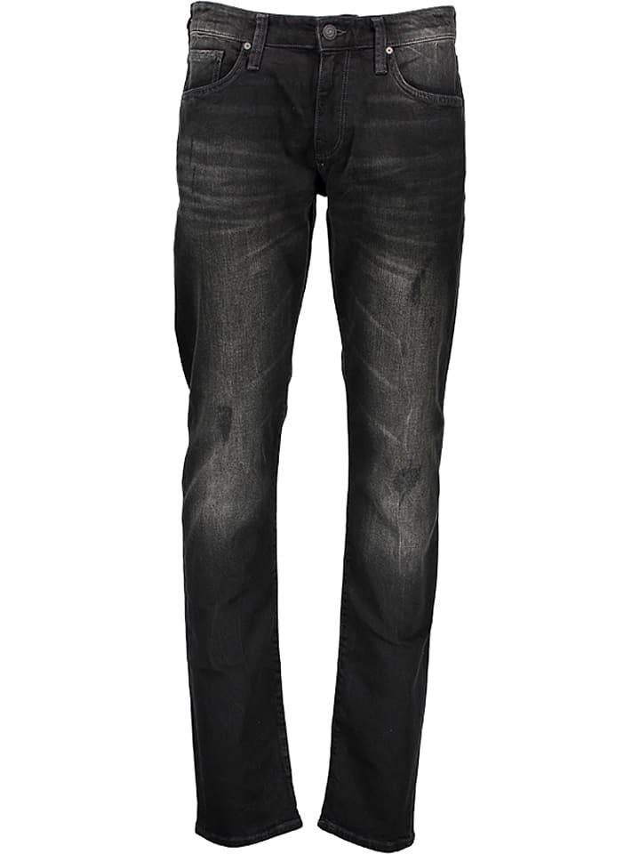 """Mavi Jeans Dżinsy """"Marcus"""" - Slim Straight Leg - w kolorze antracytowym"""