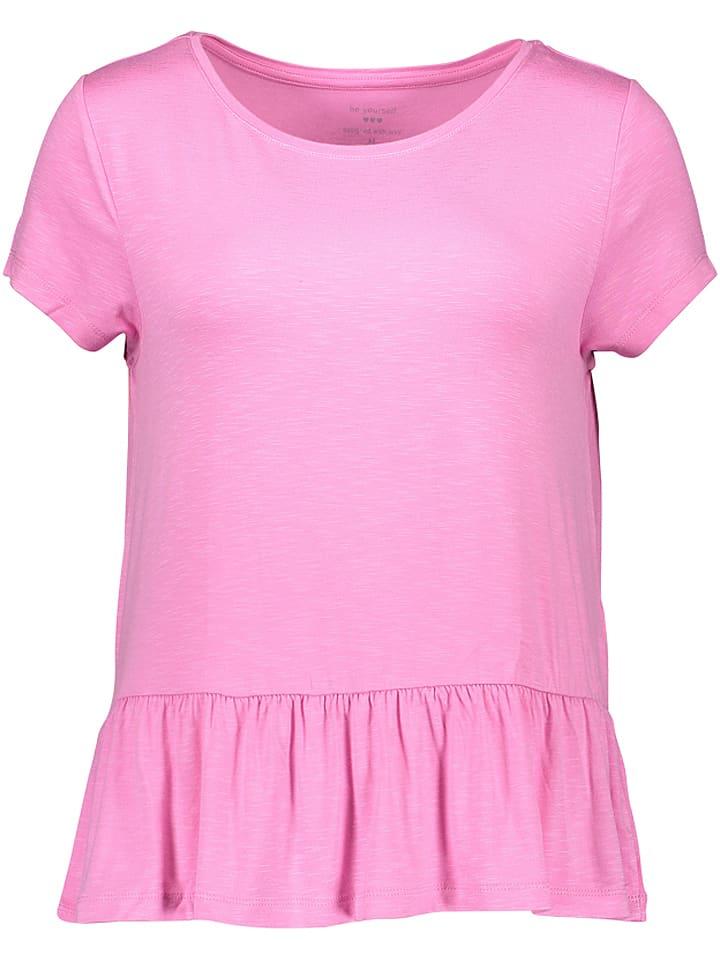 Be yourself Koszulka w kolorze różowym
