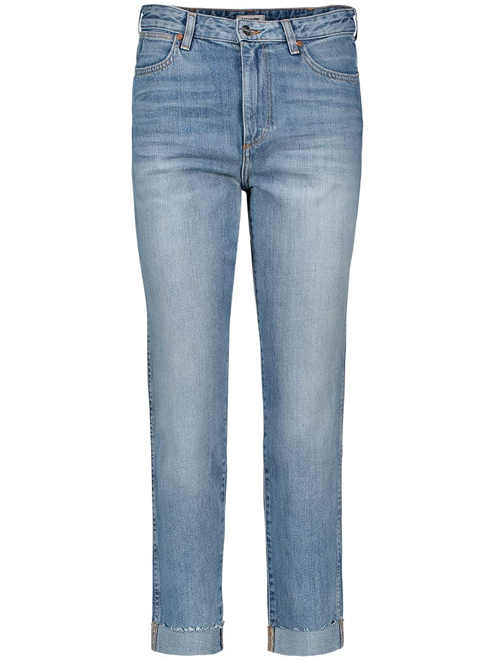 Wrangler Dżinsy - Slim fit - w kolorze błękitnym