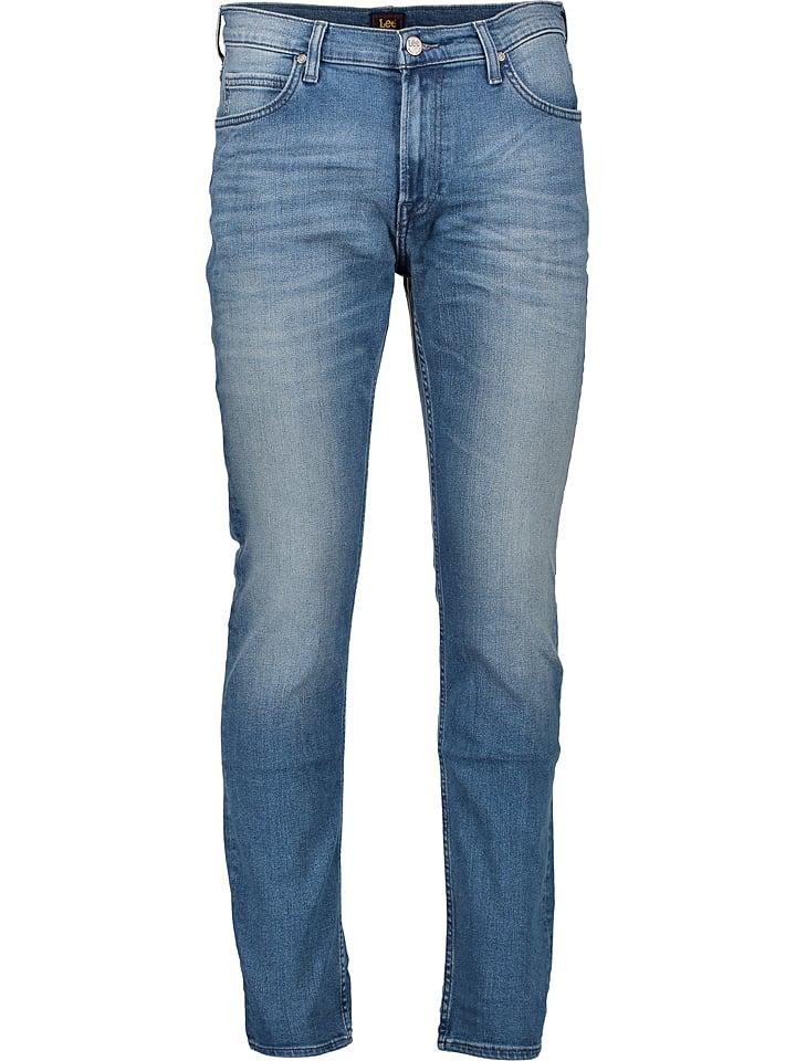 """Lee Dżinsy """"Rider"""" - Slim fit - w kolorze niebieskim"""