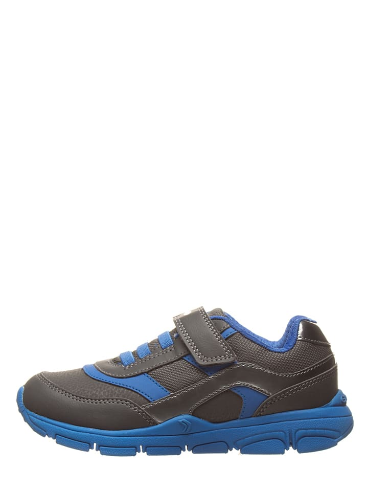 """Geox Sneakers """"New Torque"""" in Grau/ Blau"""
