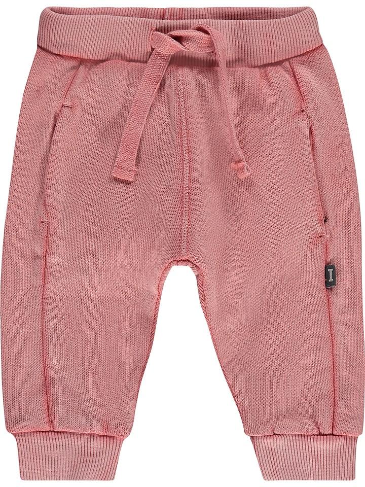 Imps & Elfs Spodnie dresowe w kolorze jasnoróżowym