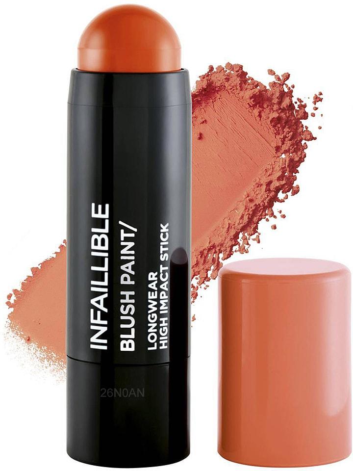 """L'Oréal Creme-Rouge """"Infaillible Blush Paint - 02 Mandarine"""" in Orange, 10 g"""