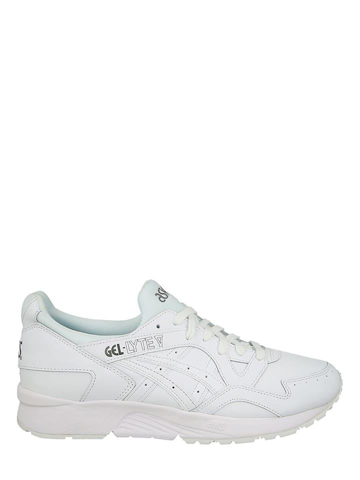 """Leder-Sneakers """"Gel Lyte V"""" in Weiß"""