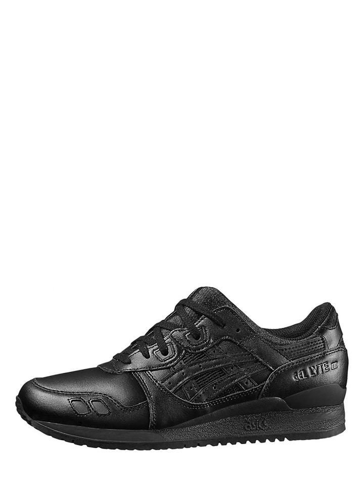 """Leren sneakers """"Gel Lyte III"""" zwart"""
