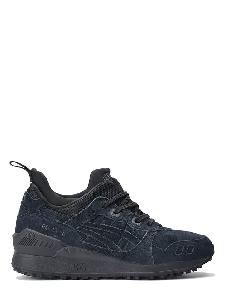 "Leren sneakers ""Gel Lyte"" donkerblauw"