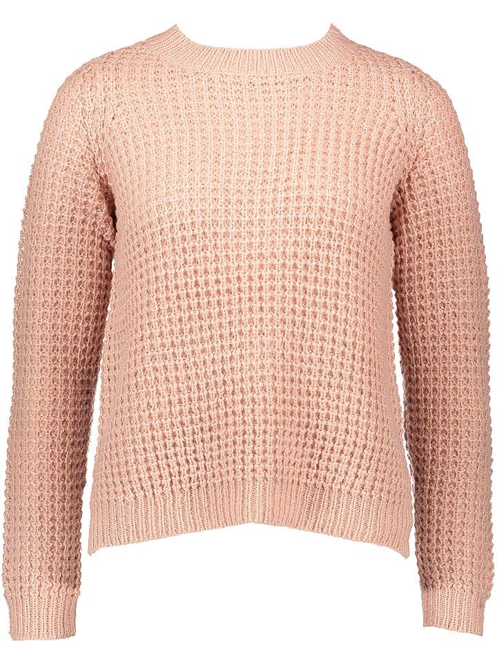 Vero Moda Sweter w kolorze jasnoróżowym