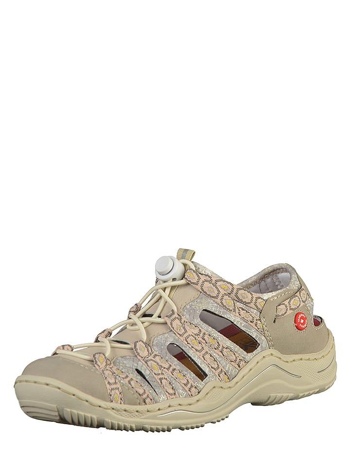 neueste kaufen Super Rabatt klassische Schuhe Rieker - Halbsandalen in Beige | limango Outlet
