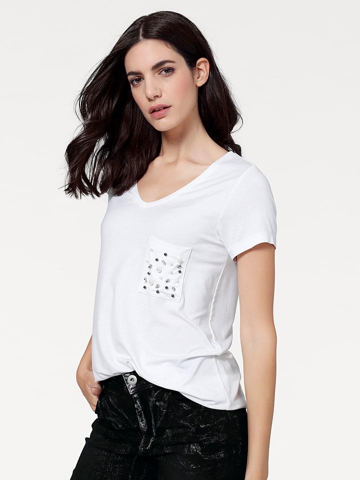 Rick cardona by heine Koszulka w kolorze białym