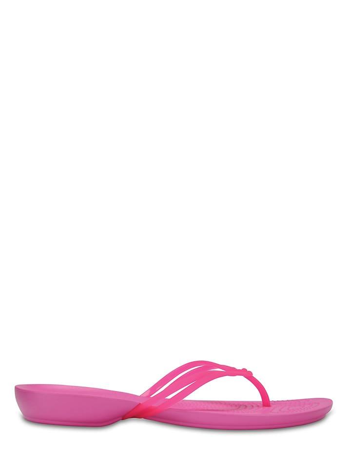 "Crocs Zehentrenner ""Isabella"" in Pink"