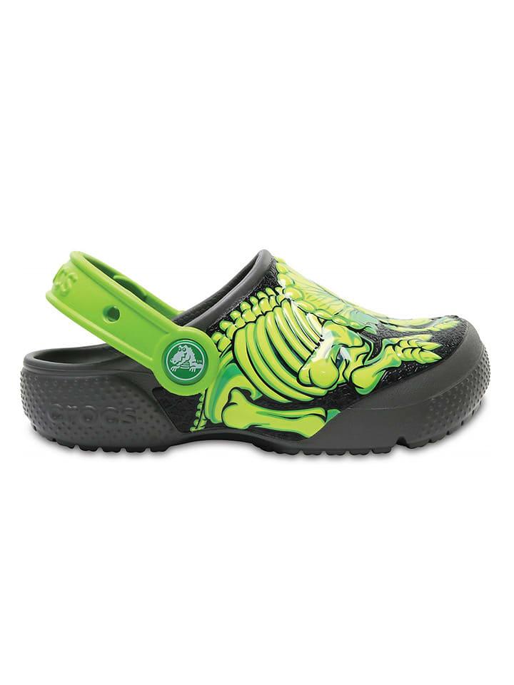 """Crocs Sabots """"FunLab"""" - noir/vert"""
