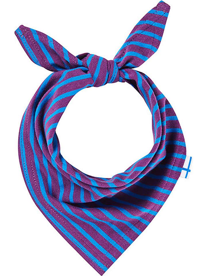 "Finkid Chustka ""Kiri"" w kolorze fioletowo-niebieskim"