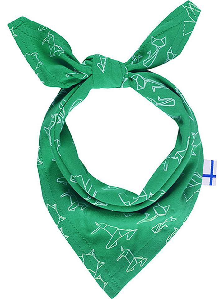 Finkid Chustka w kolorze zielonym