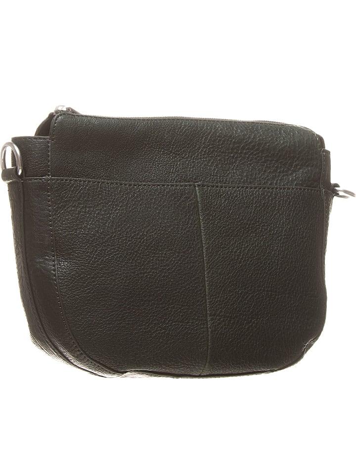 9c5ed25bffafd Skórzana torebka w kolorze ciemnozielonym - 24 x 22 x 8 cm - Marc O'Polo -  Wyprzedaż w Outlet Limango