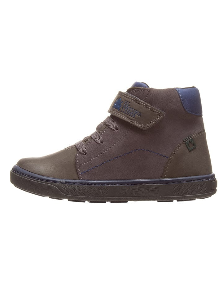 El Naturalista Leder-Sneakers in Grau