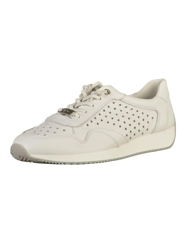 Ara Shoes Leder-Sneakers in Weiß