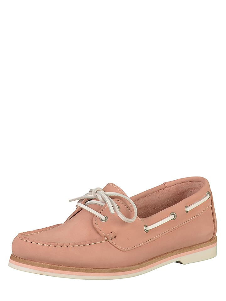 Tamaris Leder Mokassins in Rosa | limango Outlet