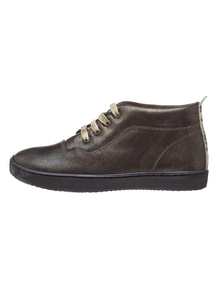 b89964f2e460 Billowy - Chaussures à lacets en cuir - marron foncé