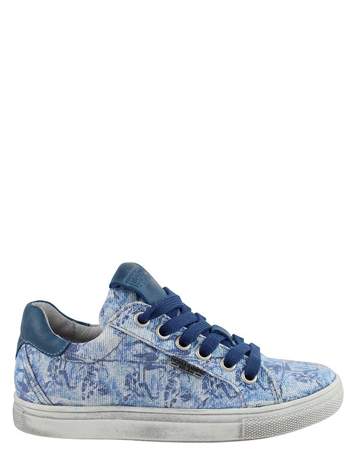 Twins & Trackstyle Sneakersy w kolorze niebieskim