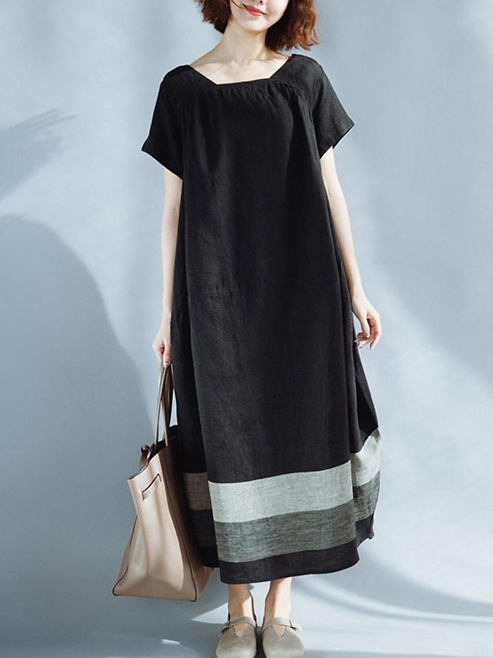 Xinyi Apparei Sukienka w kolorze czarnym