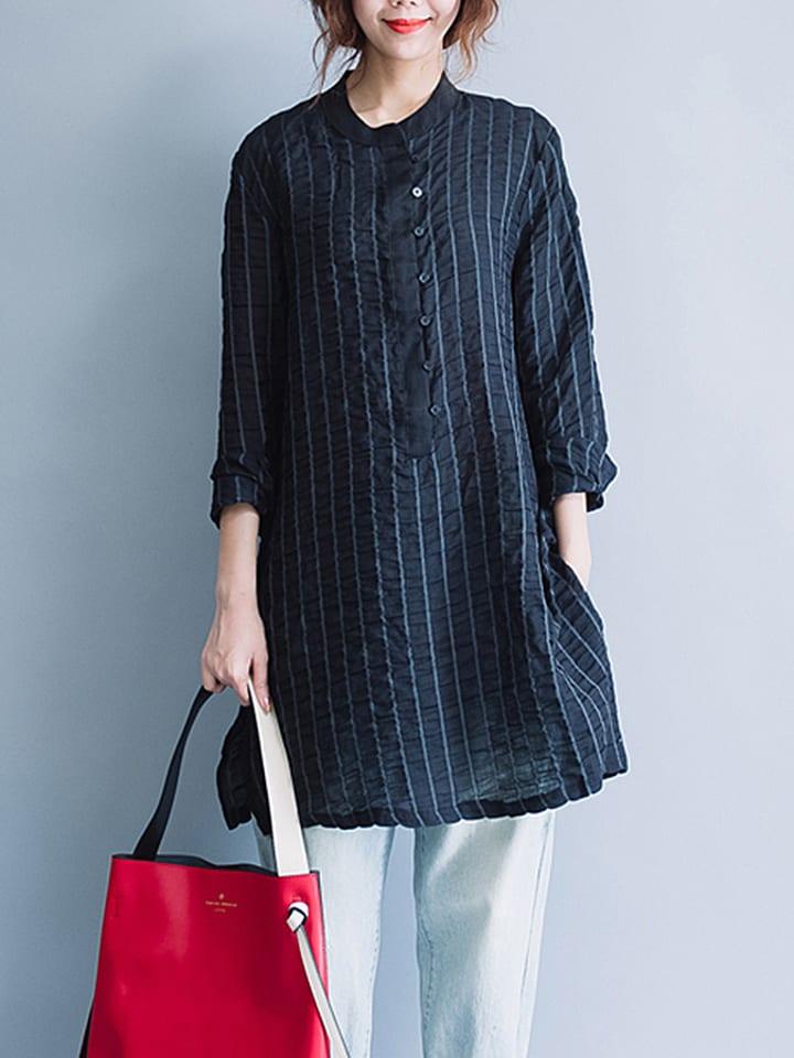Xinyi Apparei Koszula w kolorze czarnym
