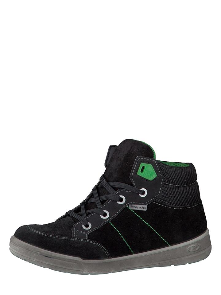 """Ricosta Sneakersy """"Bay-S-"""" w kolorze czarnym"""