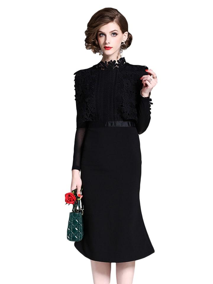 Kaimilan Sukienka w kolorze czarnym
