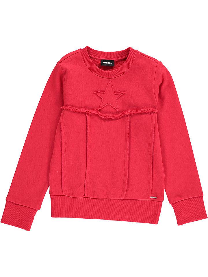 """Diesel Kid Bluza """"Shay"""" w kolorze czerwonym"""