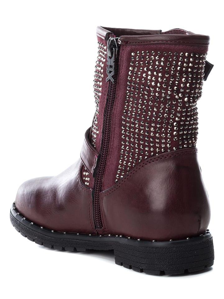 ef7cd087abe03 XTI Kids - Boots - bordeaux argenté   Outlet limango
