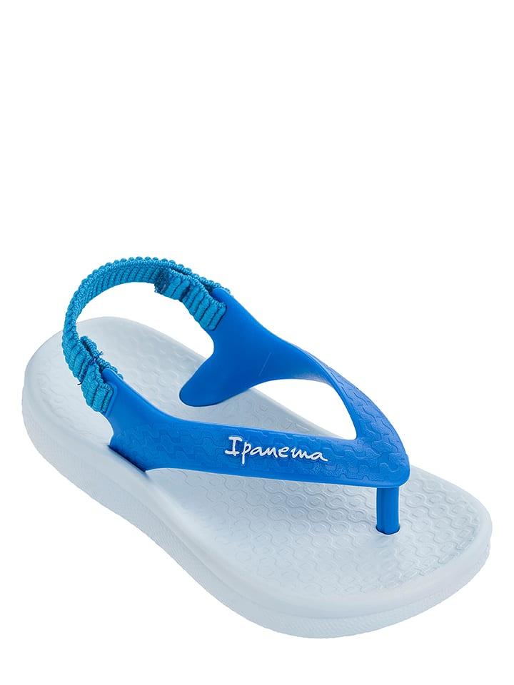 """Ipanema Sandalen """"Anat. Soft"""" in Blau/ Weiß"""