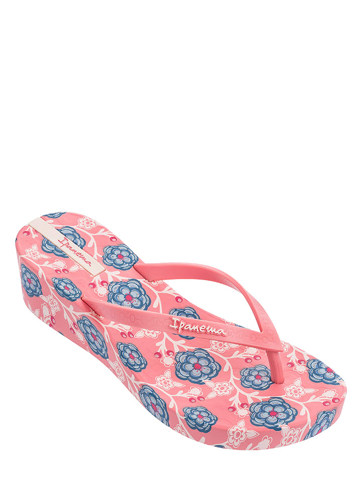 """Ipanema Zehentrenner """"Floral Plat"""" in Rosa"""