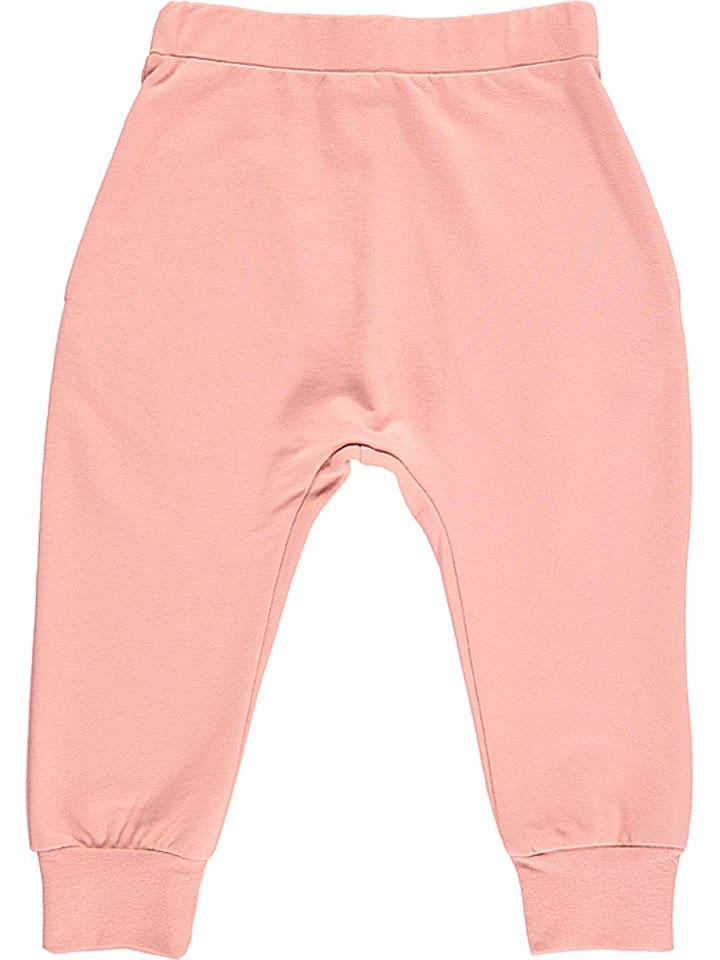 Lamino Spodnie w kolorze jasnoróżowym